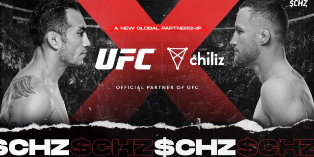 칠리즈, UFC 팬 토큰 출시한다…'거침없는 영토 확장'