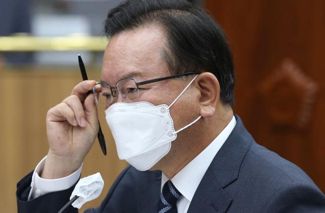 대선 도전에 선그은 김부겸 '총리가 마지막 공직'