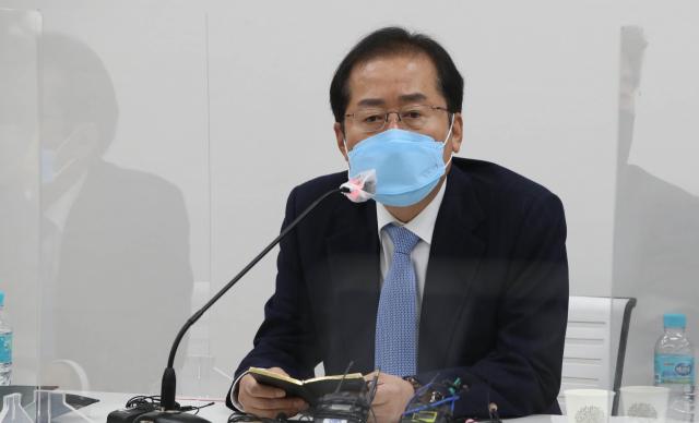 홍준표 '국민의힘, 영남 배제는 궤변…민주당 전대서 호남 빼라는식'