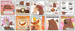 캐나다 한국문화원, '곰곰이의 한식여행' 웹툰 연재