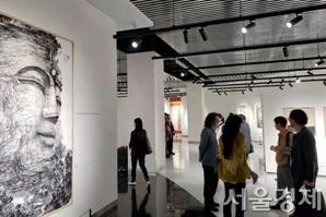 '한중 문화교류의 해' 선포에 앞서 中서 '수묵화 교류전' 열려