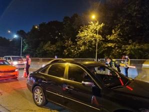 경기북부경찰청, 13일 밤 2시간 음주운전 단속…12명 적발