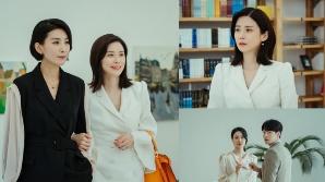 '마인' 이보영·김서형, 이현욱·옥자연과 한자리에…아슬아슬한 분위기