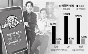 [서경 스타즈IR] 삼성증권, 위탁매매·WM·IB 고루 성장....올 '영업익 1조' 가능성
