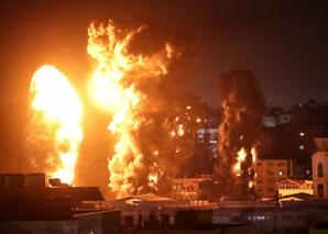 """이스라엘, 8일째 가자지구 맹폭…""""2014년 전쟁보다 심해"""""""