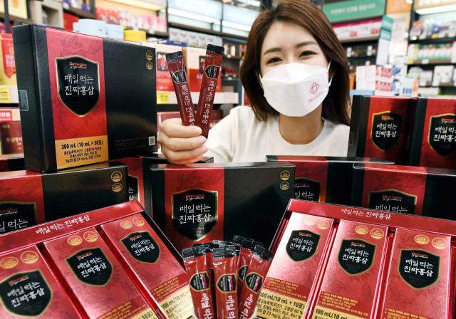 [사진] 홈플러스, 자체 브랜드 홍삼 출시
