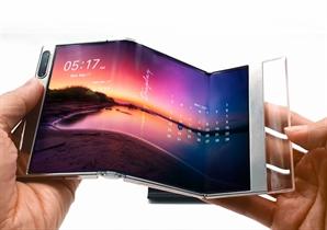 둘둘 말거나 접거나…삼성·LGD 美서 'OLED' 경쟁