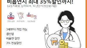 미래에셋생명 '온라인 비흡연딱딱치아보험' 출시