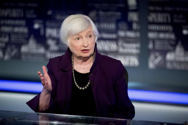 옐런 긴축으로 직진…'금리인상 미국 경제에 좋다'