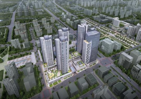 아파트 4억·오피스텔 9억…너무한 '동탄역 디에트르' 분양가