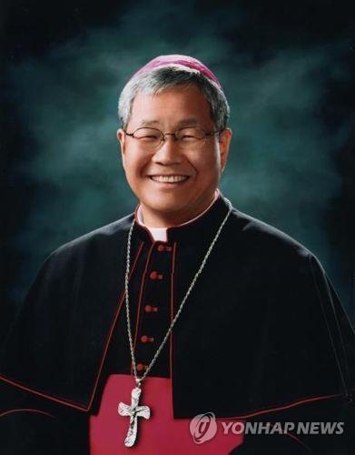[속보] 교황, 유흥식 주교 교황청 성직자성 장관에 임명