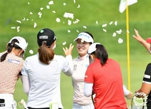 8개 대회서 4승…신지애 넘보는 '뒷심의 여왕' 박민지