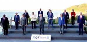 """[속보] G7 공동성명 """"한반도 완전한 비핵화·각국 대북제재 이행 촉구"""""""