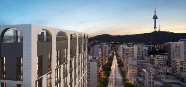 희소성 있는 서울 도심 핵심입지에 고급 주거 오피스텔 '트리니티99 푸르지오 발라드' 6월 분양