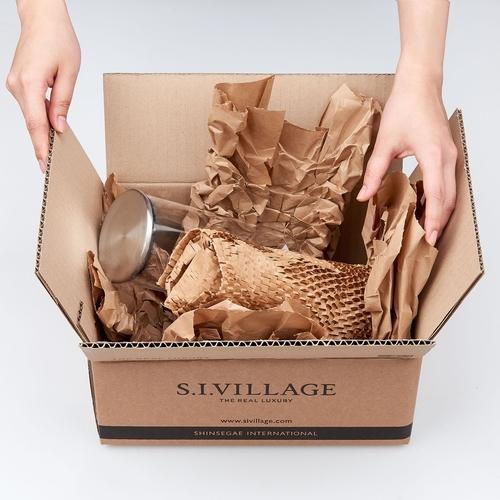 신세계인터내셔날, 택배 포장재 종이로 교체…'비닐 50톤 감축'