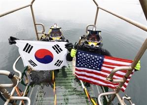 한미 연합구조훈련 2년만에 재개...군·해경 합동 동해영토수호 훈련도 실시