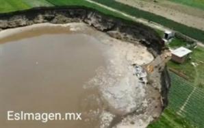 [영상] 결국 집까지 집어삼킨 멕시코 거대 싱크홀…지름만 126m