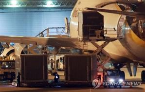화이자 백신 65만회분 인천공항 도착…570만회분 도입 완료