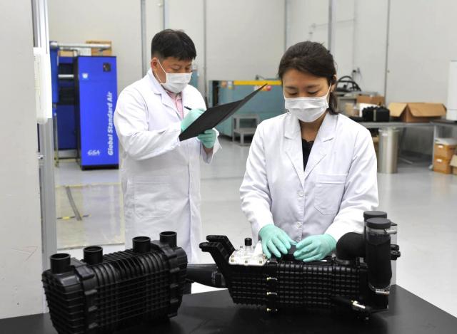 코오롱인더, 현대차 신형 넥쏘에 수소차 핵심 수분 제어장치 공급