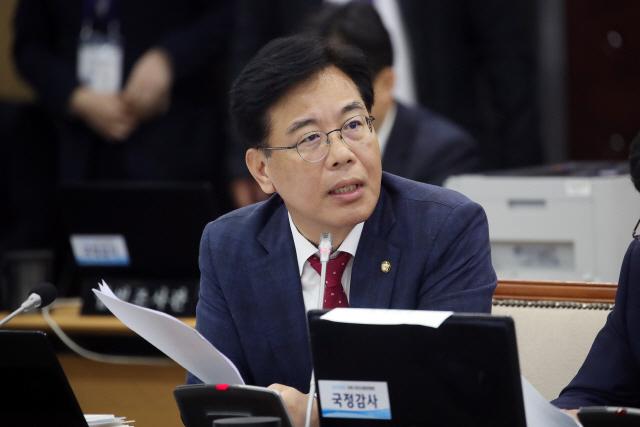 '당직자 폭행' 탈당 송언석 의원, 국민의힘 복당 신청
