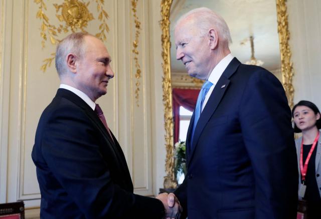 인권·사이버범죄로 푸틴 압박한 바이든…'회담은 긍정적'