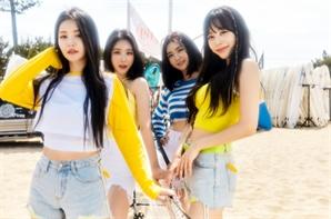 브레이브걸스 '서머퀸'으로 도약…음원차트 1위·MV 조회수 급성장