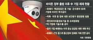 """""""안보 위협하는 中 통신장비 아웃""""…더 세지는 美 제재"""