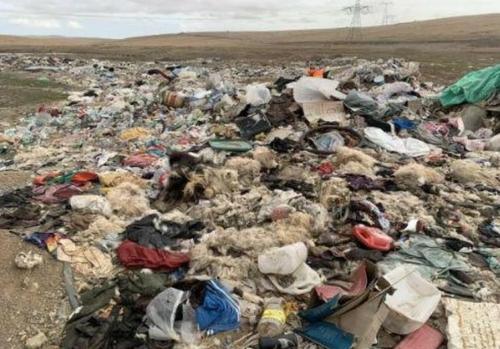 시진핑 '생태환경' 강조에도…200m '쓰레기 산' 정체는