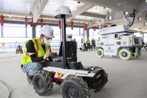 무인로봇으로 건설현장 혁신…현대건설, '건설로보틱스' 시연