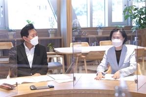 """김수영 양천구청장, 오세훈 시장에 """"목동 재건축 조속 추진해달라"""""""