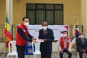 LG전자, 에티오피아 참전용사에게 생활지원금 전달
