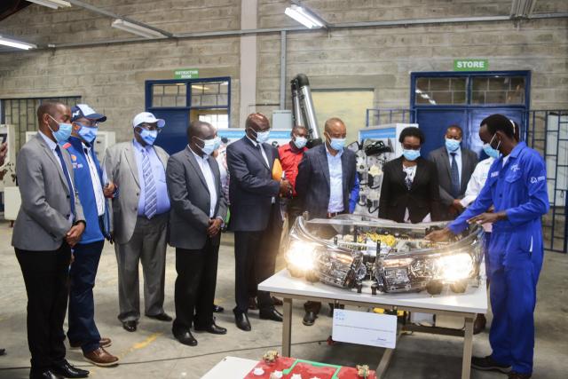 현대차, 케냐에 직업훈련학교 '현대드림센터' 열어