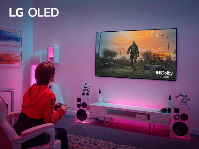 LG 올레드 TV, 업계 최초 4K·120Hz서도 돌비비전 게이밍 지원