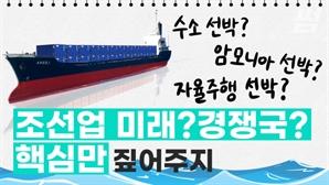 [영상]암모니아 선박? 스마트 선박? 미래 조선 시장 주도할 트렌드 살펴보니