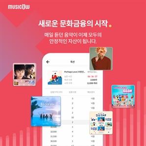 뮤직카우, 중기부 선정 예비유니콘기업에 선정