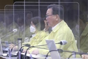 """[속보]김부겸 """"고3 접종 11만5,000명…오늘 청해부대 전원 귀국"""""""