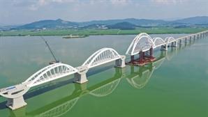 DL이앤씨, 국내 최대 철도 아치교량 건설 완료