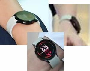'식빵언니' 손목에서 빛난 그것…공개 앞둔 '갤워치4'였다