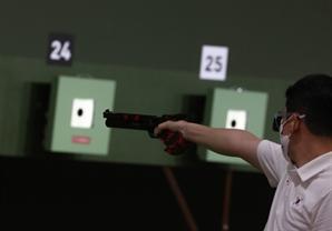 [도쿄 올림픽] 세상에 단 하나…사격 진종오의 '빨간 총' 비밀