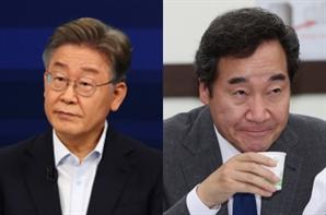 '대통령 지켜달라' 김경수 발언에...이재명-이낙연 또 충돌