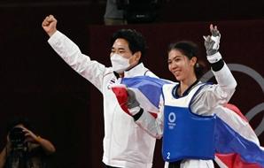 [도쿄 올림픽]태국 태권도 기적 뒤 한국인 '타이거 최'