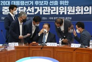 대선 예비 후보 난타전에…민주당, 캠프 선대본부장 호출