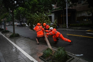 中 동부 태풍 '인파' 영향권