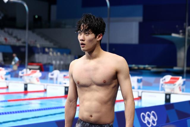 韓수영 9년의 기다림, 18세 황선우가 끝냈다 [도쿄 올림픽]