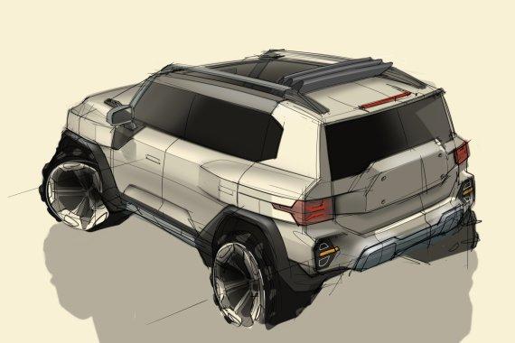 '코란도가 돌아왔다'… 쌍용차, 차세대 SUV KR10 디자인 공개