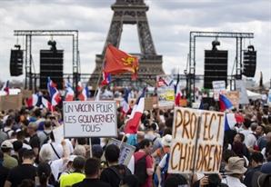 프랑스 백신 1회 이상 접종자 4,000만 명 돌파…인구의 60%