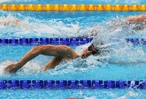 [도쿄올림픽]'150m까지 선두' 황선우 자유형 200m 결승서 7위