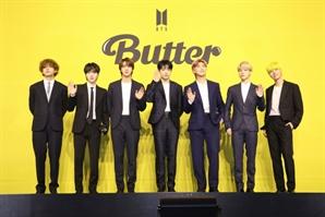 방탄소년단 'Butter' 美 빌보드 '핫100' 1위 재탈환…2021년 최다 1위곡 등극