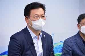 """송영길 """"남북 통신연락선 복원…가뭄에 소나기같은 소식"""""""