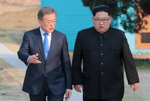 """[속보] 北도 통신선 복원 동시 발표...""""남북 수뇌 친서, 화해에 큰 걸음"""""""